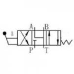 NG10 Manual valve spool Nº6
